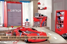 Sporty Children's Wardrobe at Neverland Furniture in Canada